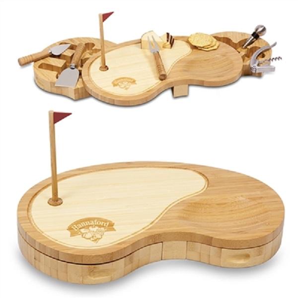 Golf Sand Trap Cheese Board Set