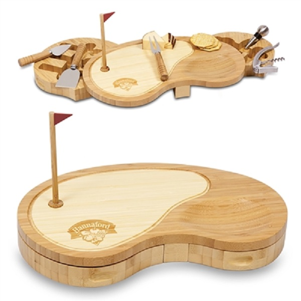 Golf Sand Trap Cheese Board Set