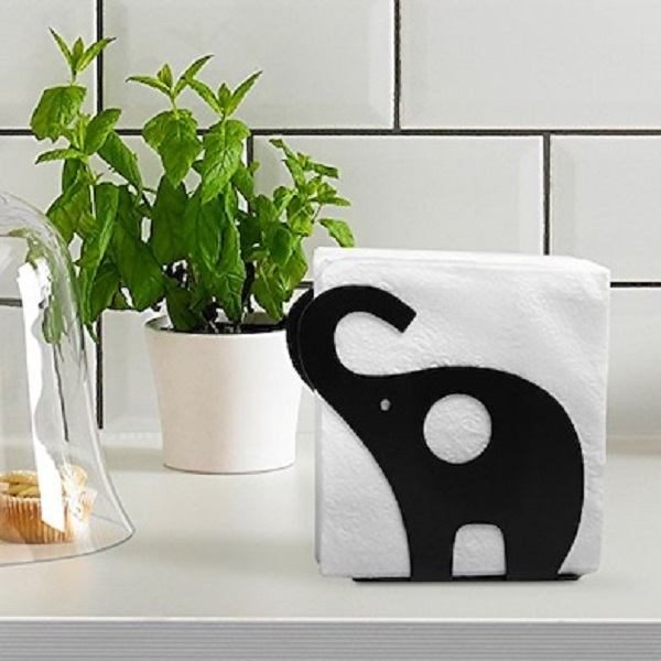Elephant Shaped Napkin Holder