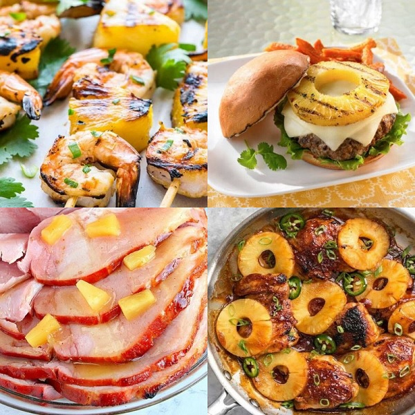 Ten Meal Ideas Made With Pineapple for That Perfect Night in