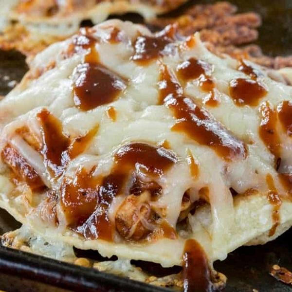 Barbecue Chicken Tostadas