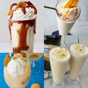 Ten Different Ways to Enjoy a Banana Milkshake and All the Recipes