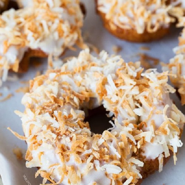 How to Make a Triple Coconut Ring Doughnut
