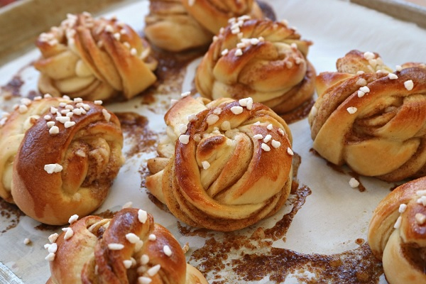 Traditional Kanelbullar