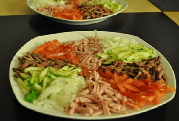 Belarusian Beef Salad
