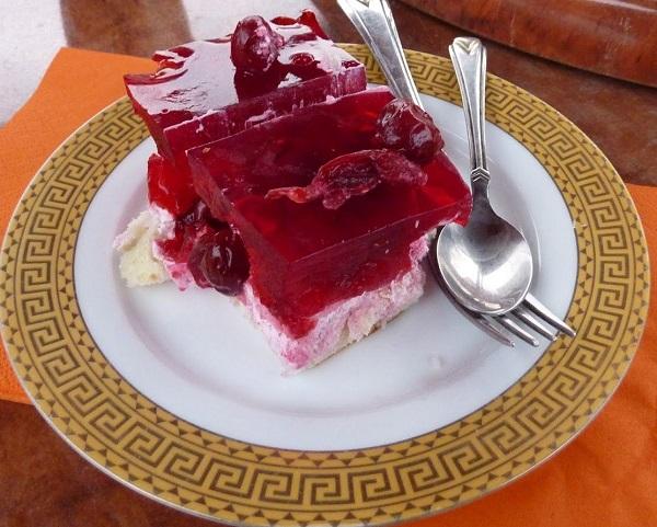 Kazakh Cherry Dessert