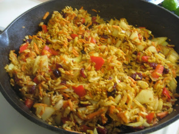 Kazakhstan Spicy Rice