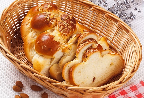Traditional Bulgarian Kozunak (Easter Bread)