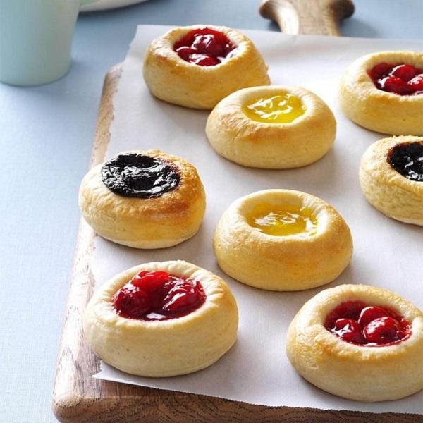 Traditional Bohemian Kolaches (mini tarts)