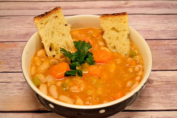 Traditional Greek Bean Soup