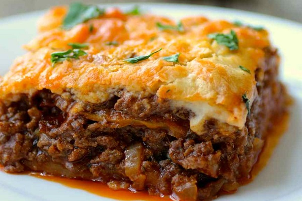 Traditional Moussaka