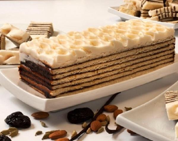 Traditional Vinarterta (Icelandic Cake)