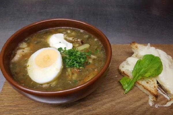 Traditional Latvian Sorrel Soup