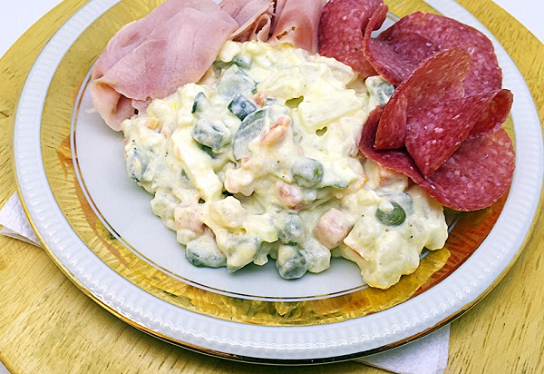 Traditional Slovak Potato Salad