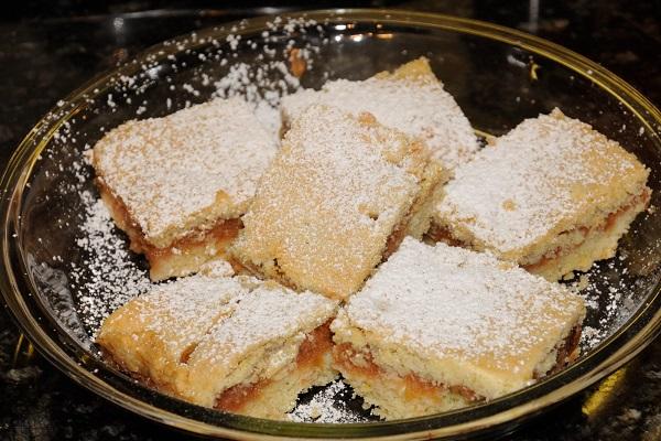 Traditional Slovak Jablkový Koláč (Apple Cake)