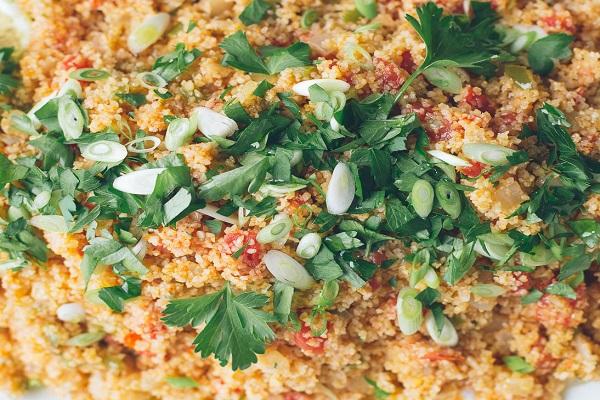 Traditional Armenian Bulgur Salad