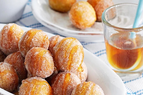 Traditional Cypriot Loukoumades (Doughnuts)