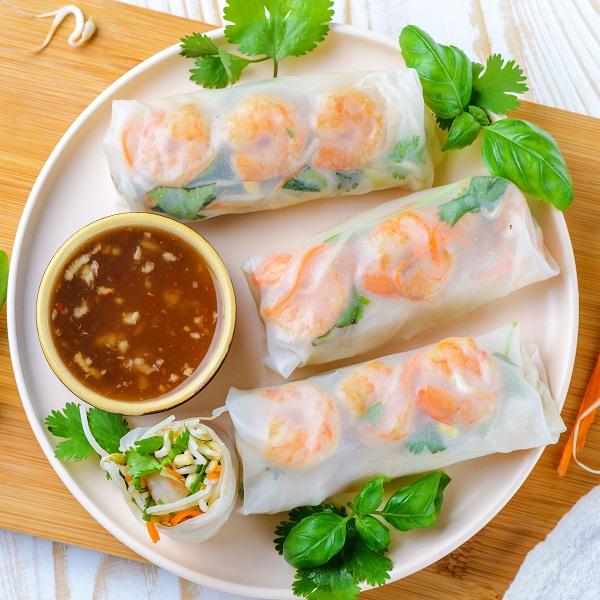 Thai Fresh Spring Rolls