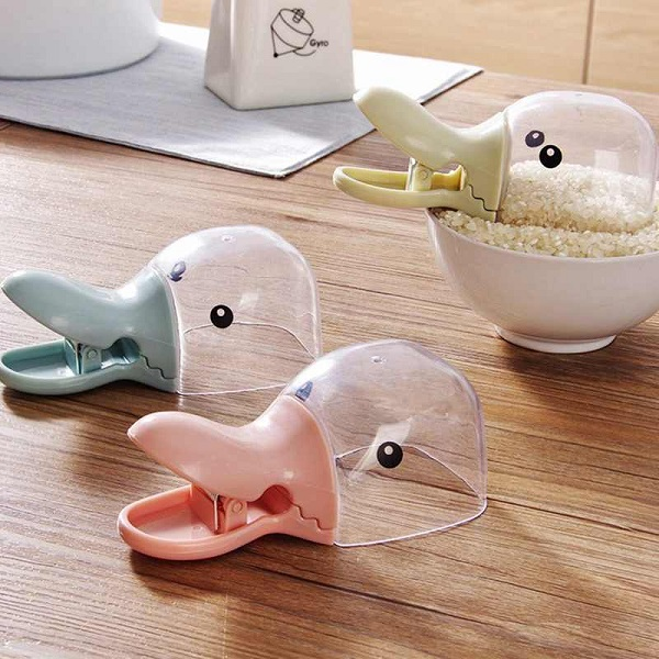 FancyQbue Rice Measuring Duck Cups