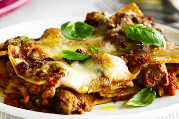 Smoky Sausage and Butternut Lasagne