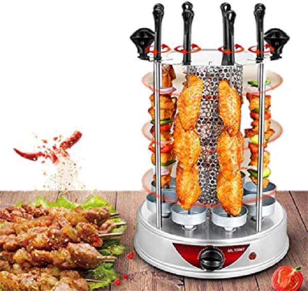 Angela Small Vertical Electric Rotisserie Grill
