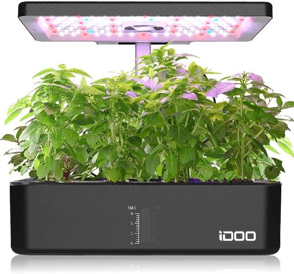 iDOO Indoor Herb Garden Kit