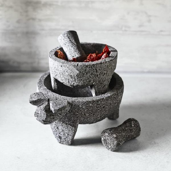 Molcajete Volcanic Rock Mortar & Pestle Set