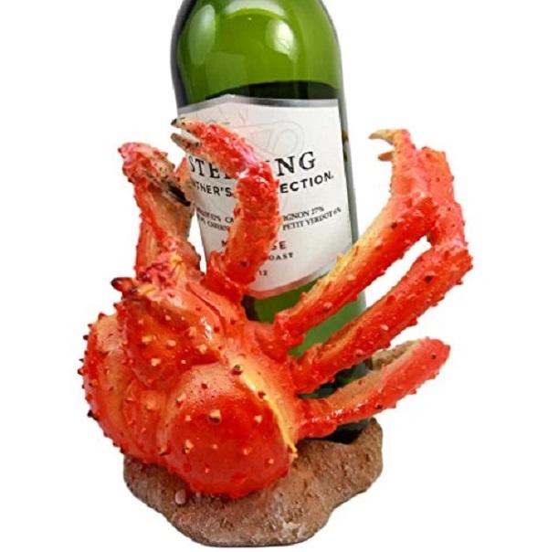 Spider Crab Wine Bottle Holder