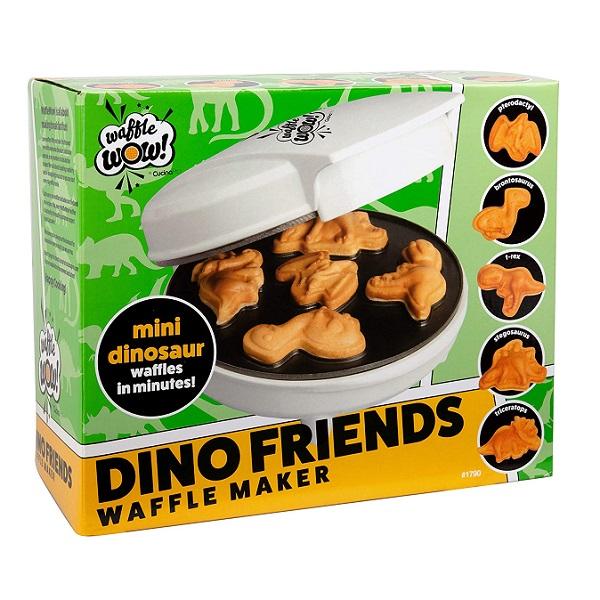 Dino Friends Mini Waffle Maker