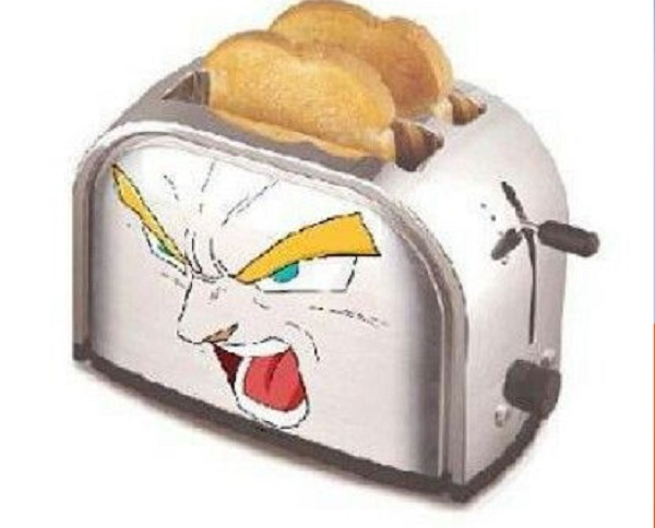 Dragon Ball Toaster