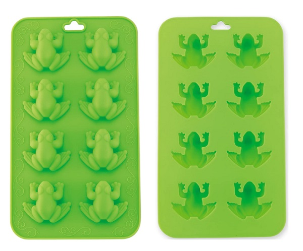 The Kosher Cook Store Silicone Frog Shape Ice Tray
