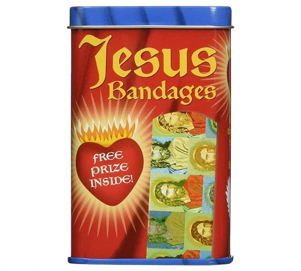 Toy Zany Jesus Adhesive Plasters