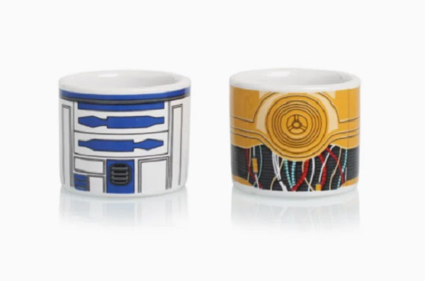 Star-Wars R2D2 And CP30 Egg Cup Set