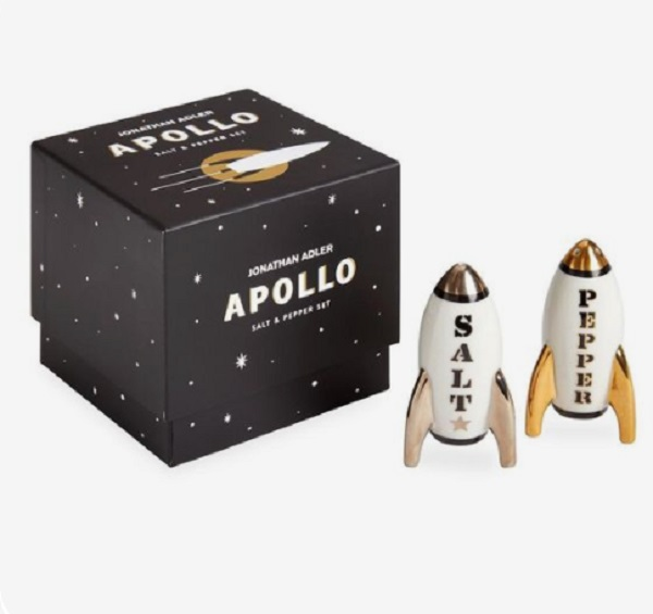 Jonathan Adler-Apollo Salt and Pepper Shakers