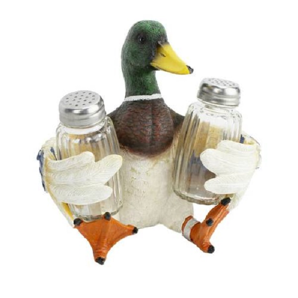 American Expedition Duck Shaped Salt and Pepper Holder