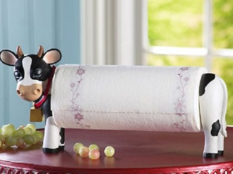 Ten Novelty Kitchen Roll Holders You Won't Believe Are Real!