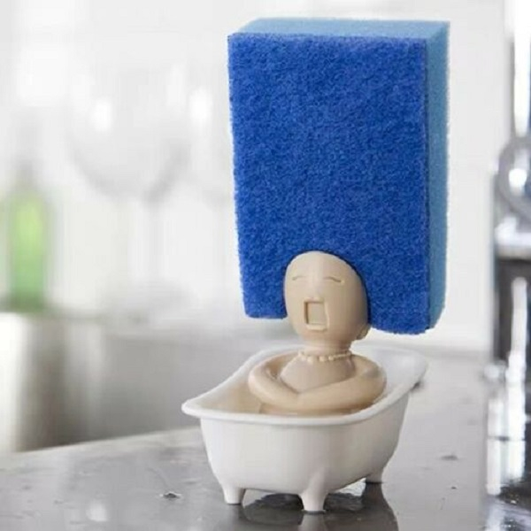 Bathtub Scrubber Sponge Holder by Lulu
