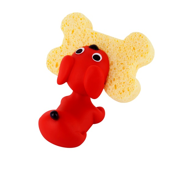 Puppy Dog Sponge Holder by Pylones