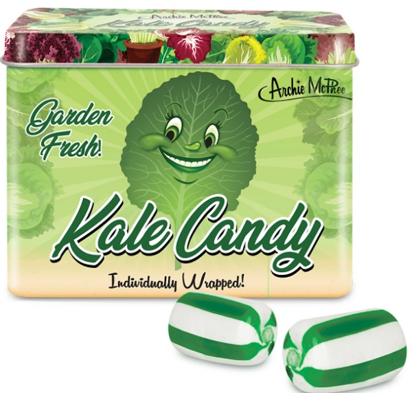 Kale Flavour Candy by Archie McPhee
