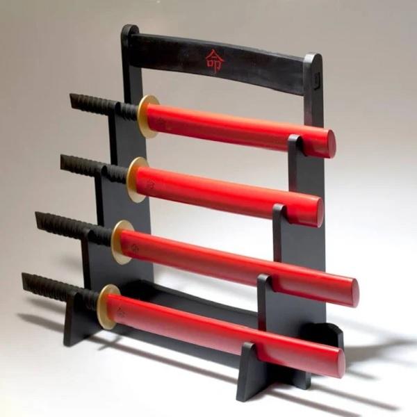 Samurai Kitchen Knife Block Set