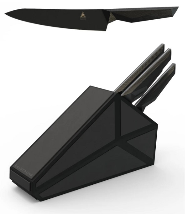 Shadow Black Series 5-piece Knife Block by dalstrong