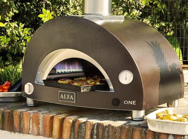 Alfa Forni Gas Powered Pizza Oven