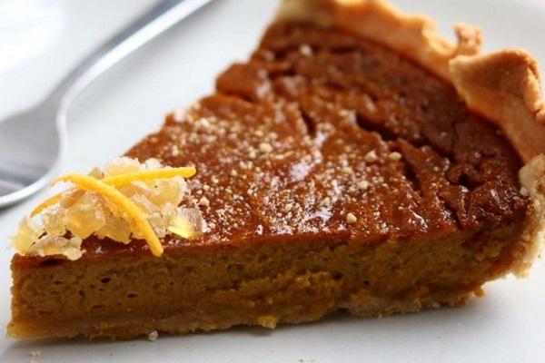 Pumpkin pie - 3,434 IU Per 100 Grams