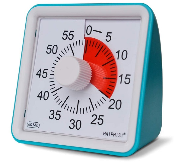 60-Minute Visual Timer For Kids
