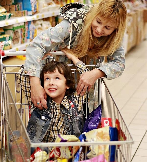 Take Them Grocery Shopping