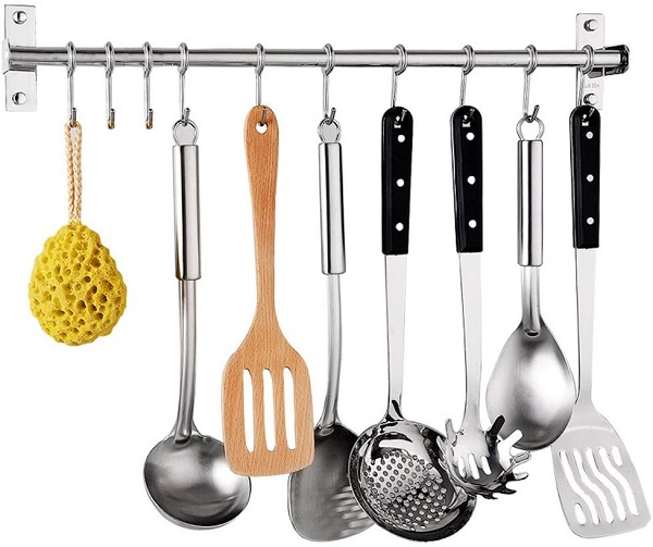 Steel Kitchen Bars And Hooks