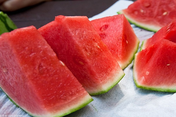 Most Watermelons Self-Chopped On The Stomach In A Minute