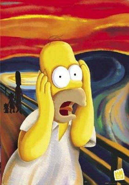 Top 10 delle parodie del Lurlo di Edvard Munch  Top 10