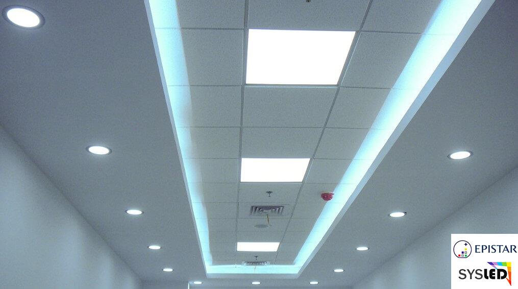 Dalle LED 600 X 600 EPISTAR 2835 Blanc Froid Blanc Neutre