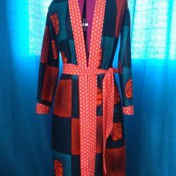 Kimono Femme en wax